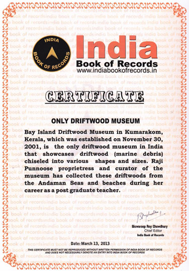 India Book of Records Certified