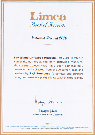 Limca Book of Records Certified
